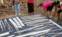 Comunidades se capacitan en utilización artesanal del vástago