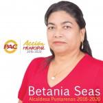 Betania Seas Molina, candidata a la alcaldía del cantón Central de Puntarenas.