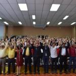 """""""El PAC es el único partido político nacional que mantiene sus compromisos fundacionales con la seguridad social de este país"""", aseguró Margarita Bolaños Arquín, presidenta del PAC. LUIS DIEGO CORONADO A/PAC"""