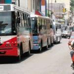 Parada de buses de San Pedro, en Cuesta de Moras. Foto: Rafael Pacheco