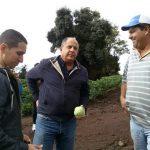 Visita del presidente Luis Guillermo Solís al cantón de Turrialba, en compañía de Luis Fernando León, alcalde PAC.