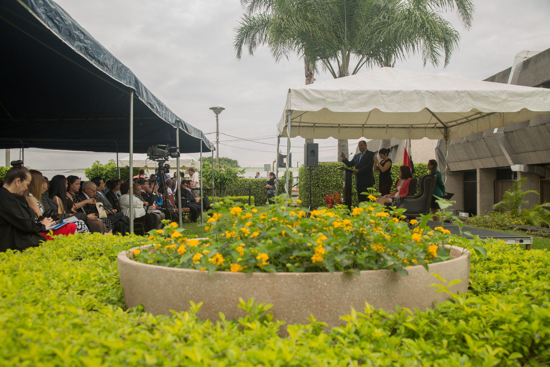 •Actividad pretende darle la bienvenida a las autoridades que asumieron el 1 de mayo. Foto cortesía/PAC.