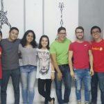 Cuerpo coordinador de Juventudes PAC de Curridabat. Foto cortesía/PAC.