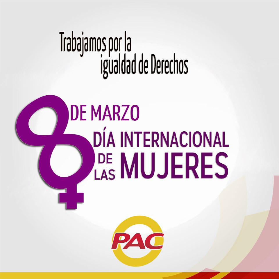 8 de marzo 2017- Día de la Mujer