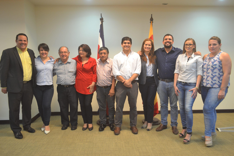 Precandidatos y precandidatas por la provincia de Cartago.