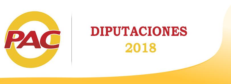 Diputaciones 2018