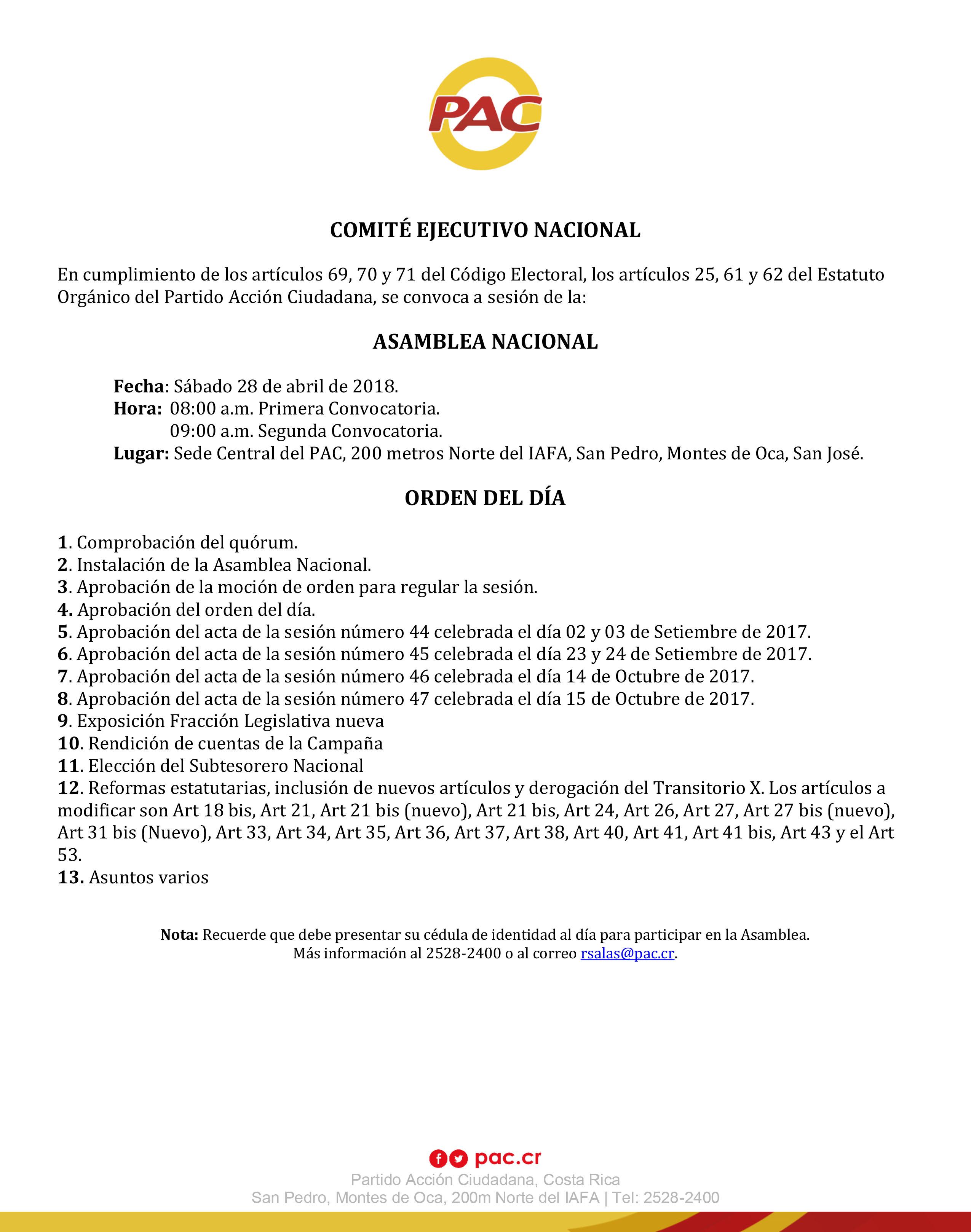 Agenda AN 28 Abril